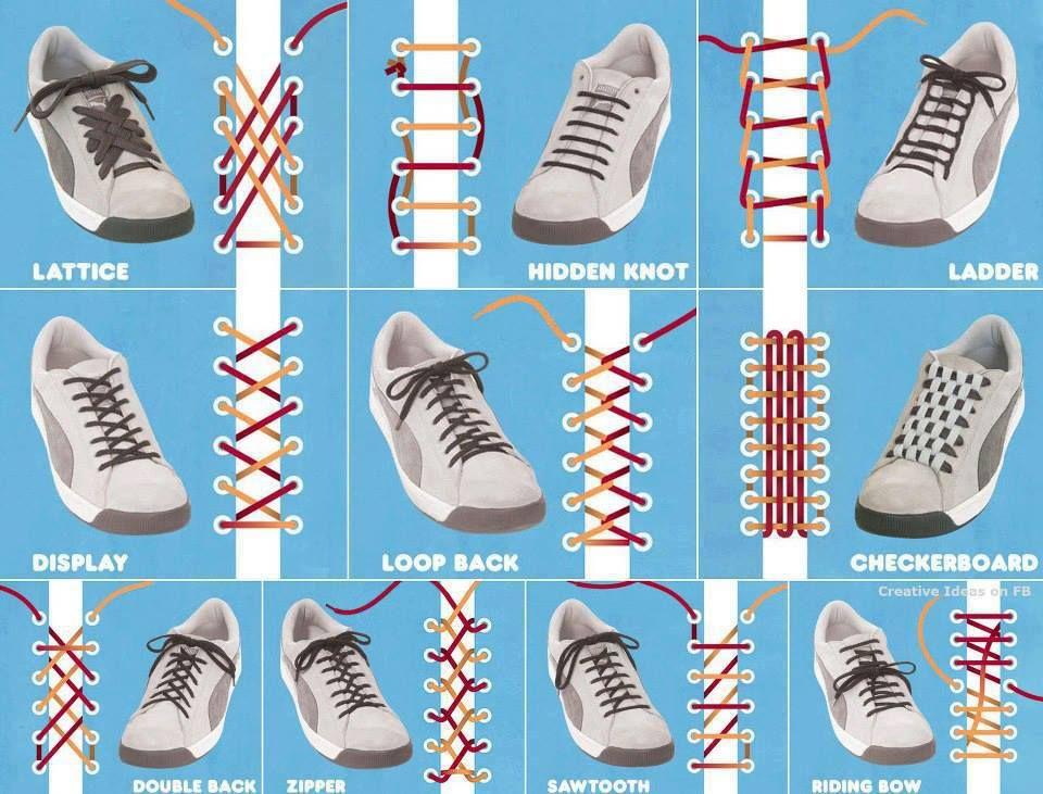 Creative Ideas. Lace ShoesTie ...