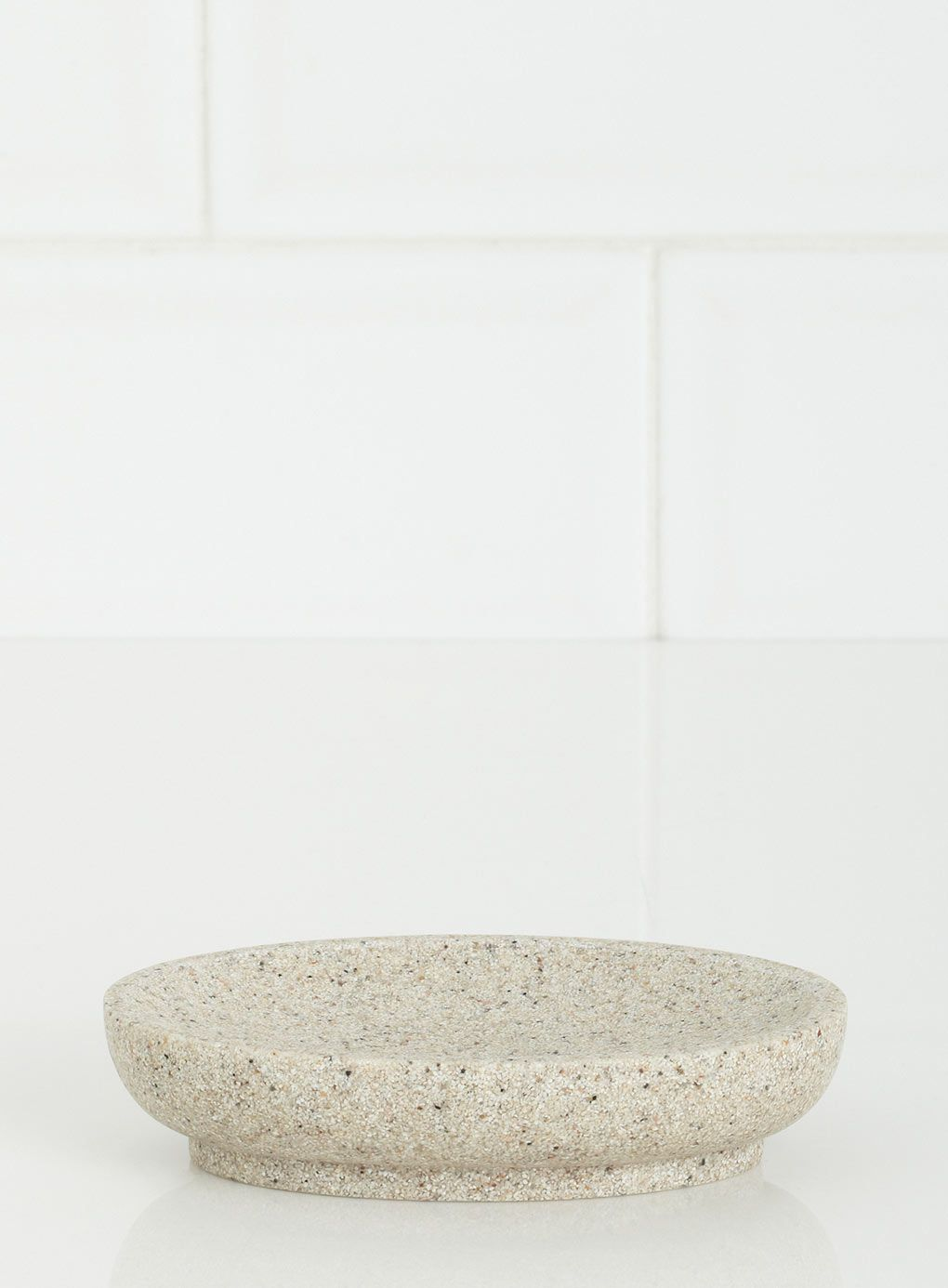 Sand Round Resin Soap Dish - bathroom accessories - Home & Lighting ...