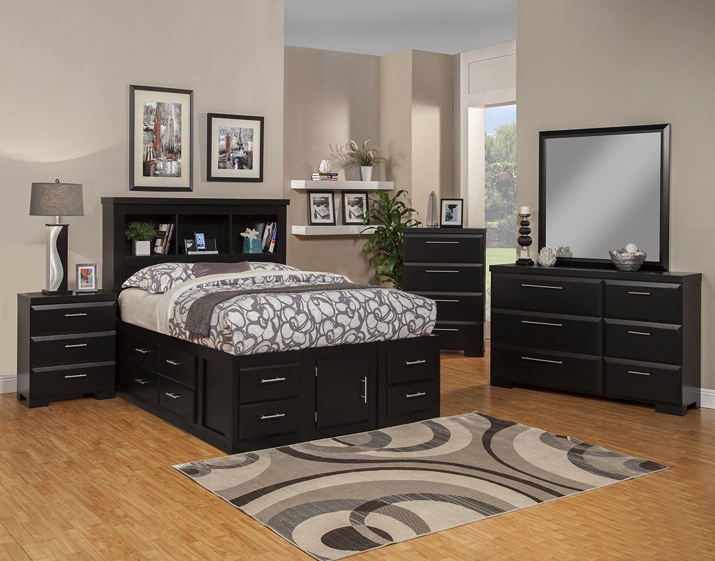 Amazon.com: Sandberg Furniture Serenity 10-Drawer Ultimate Storage