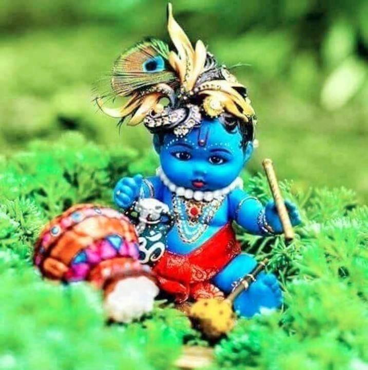 Pin By Vaishali Choudhary On Laddu Gopal Bal Krishna Lord Krishna Images Baby Krishna