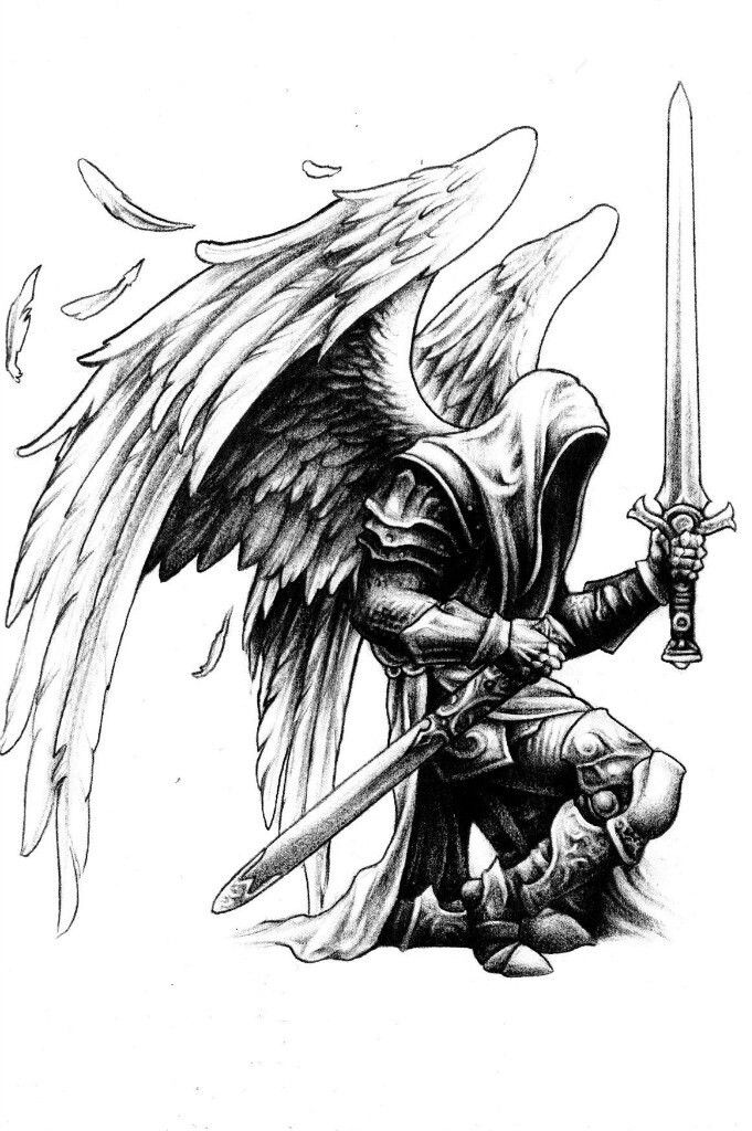 angel warrior sketching pinterest angel warrior angel and tattoo. Black Bedroom Furniture Sets. Home Design Ideas