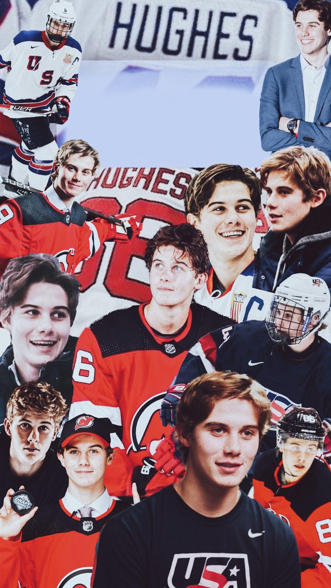 iphone wallpaper of jack hughes Hockey baby, Hot hockey