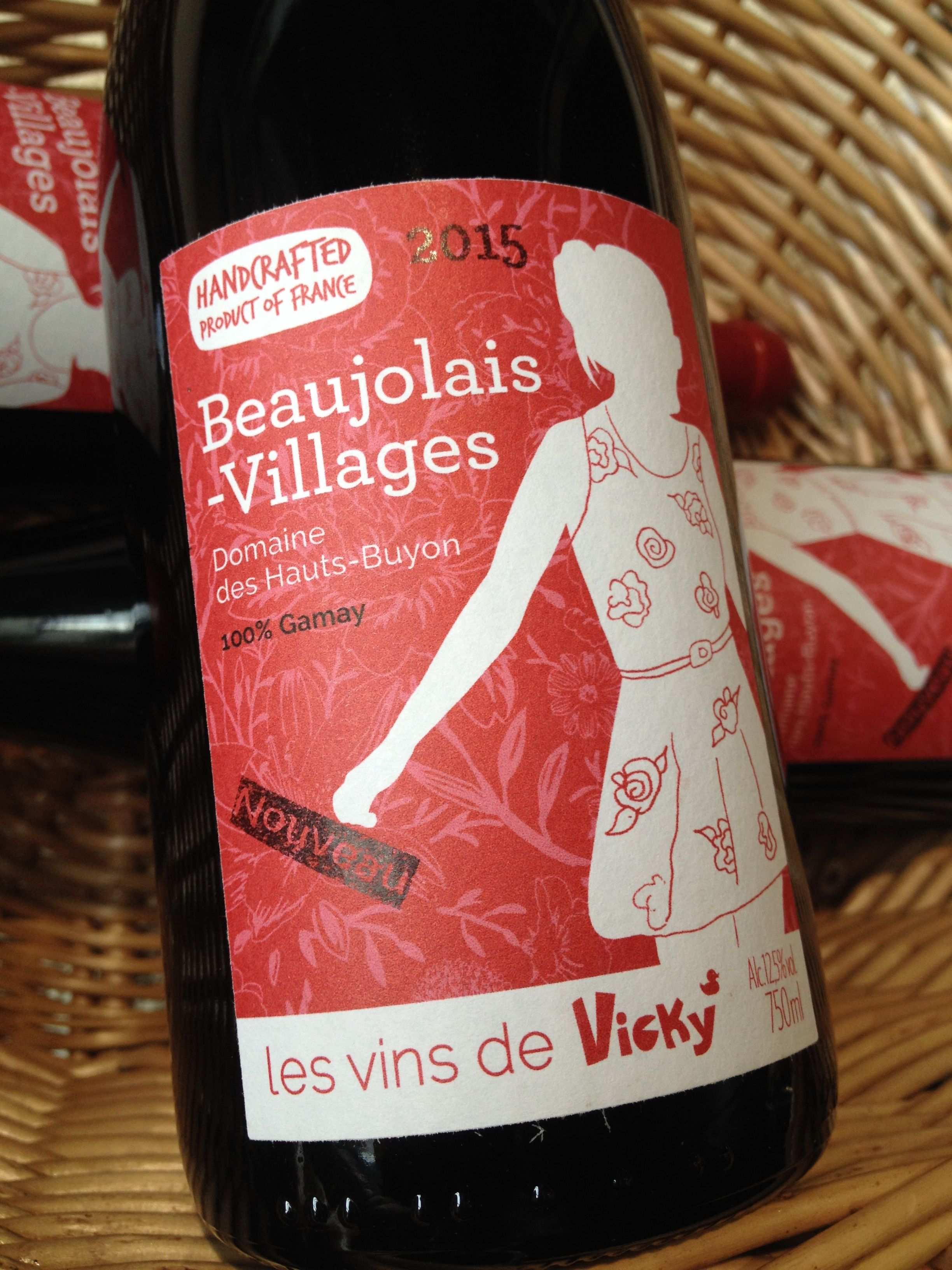 Miss Vicky Beaujolais Nouveau 2015 Wines Beaujolais Nouveau Wine Making