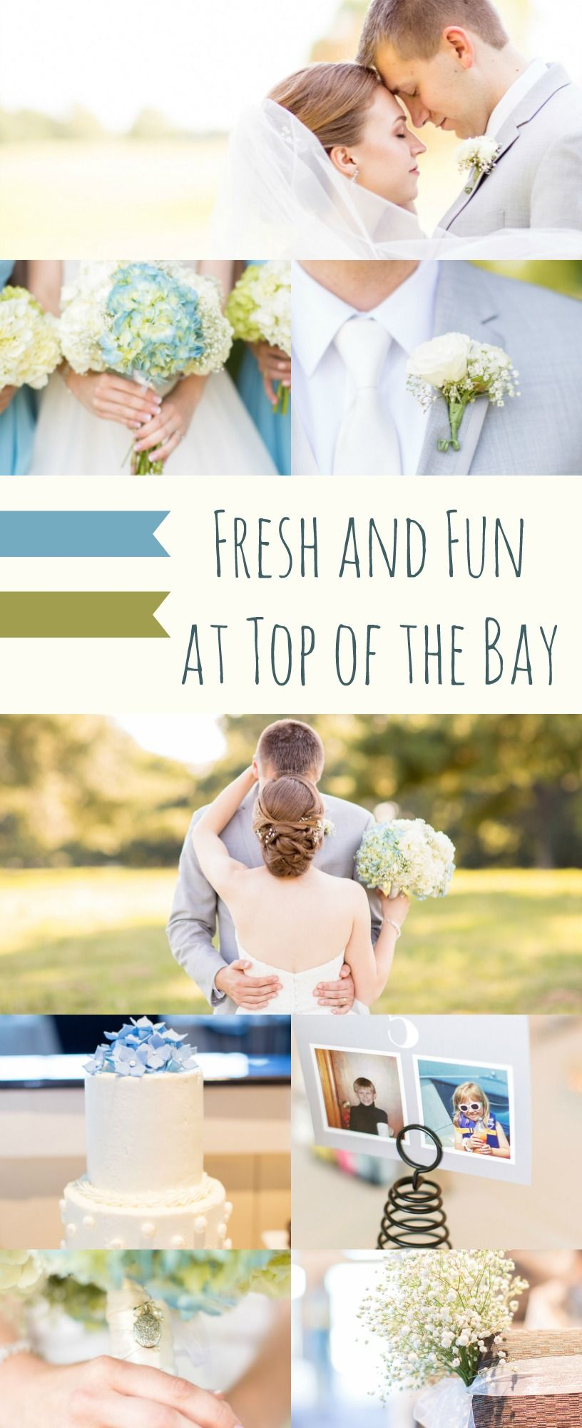 Wedding theme ideas by color  Fresh and Fun at Top of the Bay  Unique weddings Wedding and