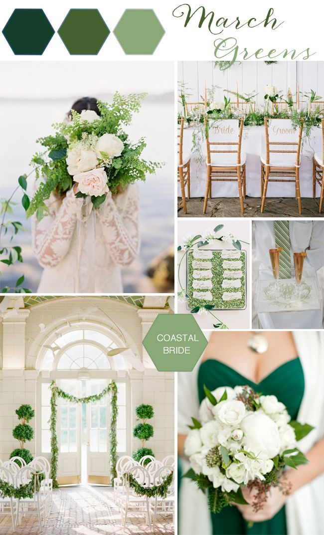Green Wedding Decor Inspiration March Colorsmarch