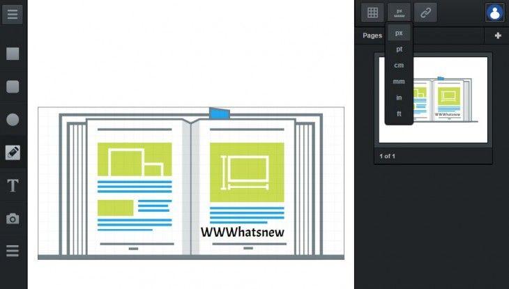 Lee vectr, un editor vectorial de imágenes online que nos permite compartir una url para que se vea el proceso