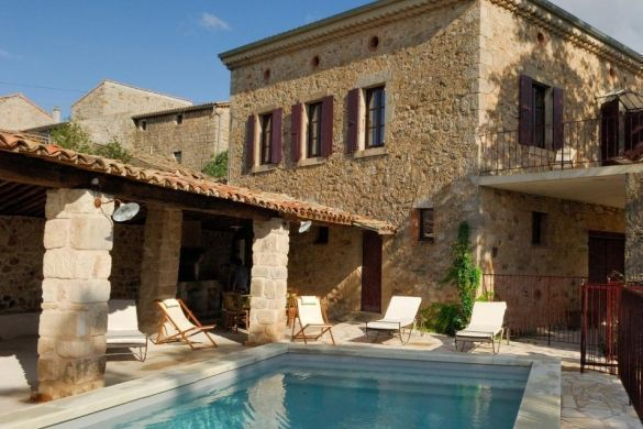 Country Holiday Home With Heated Swimming Pool Holiday Rental In Rosieres  From