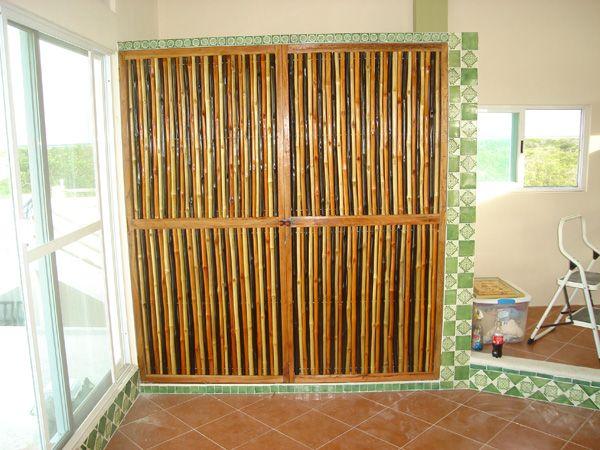 bamboo furniture for closet doors