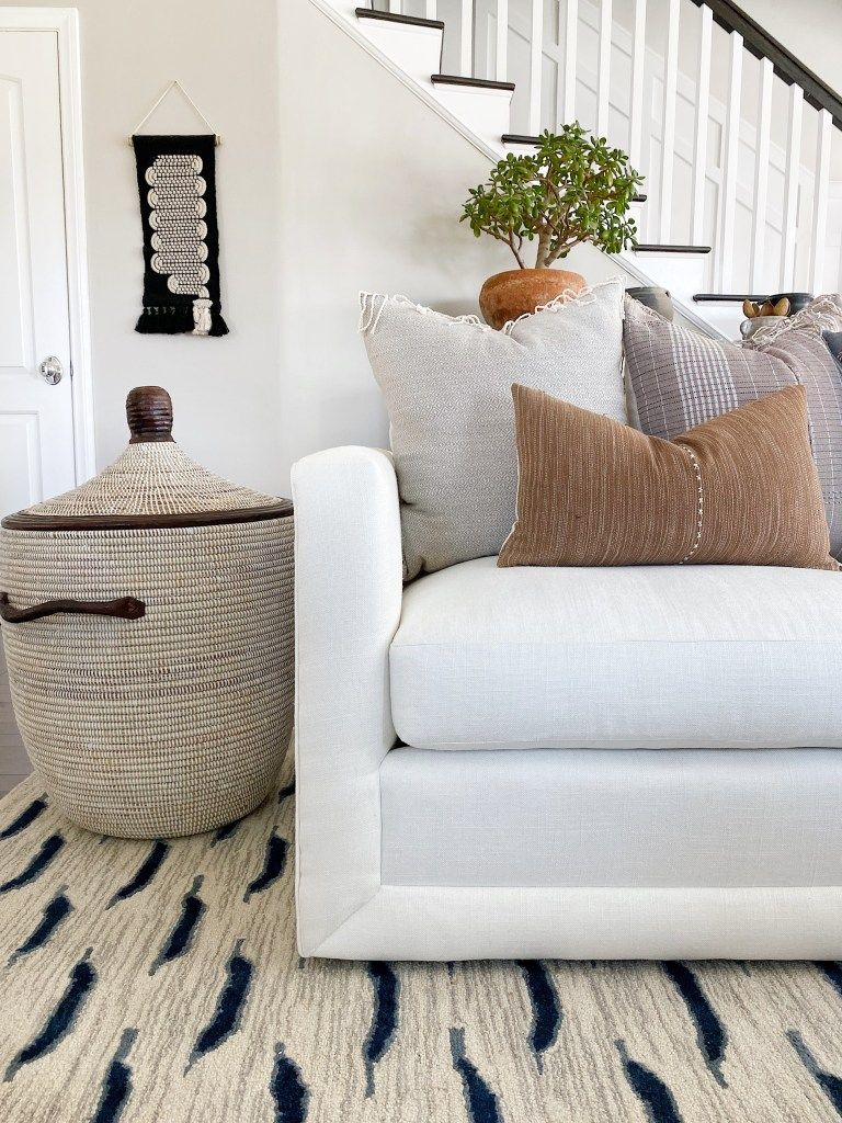 Our New Sectional In 2020 Sectional Sofa Styling White Sectional
