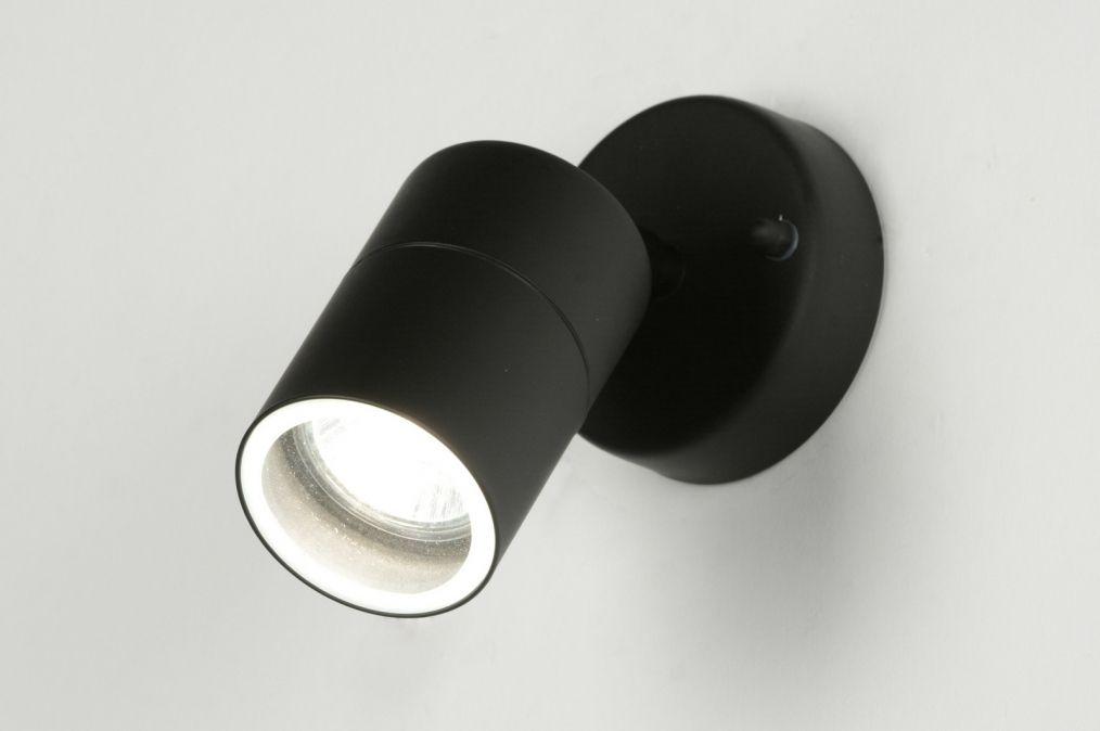 Spot 71570: Modern, Metaal, Zwart, Mat
