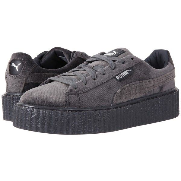 PUMA Creeper Velvet (Glacier GrayGlacier) Women's Shoes