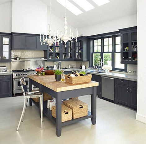 Best Gwyneth Paltrow S Kitchen Home Kitchens Grey Kitchen 400 x 300