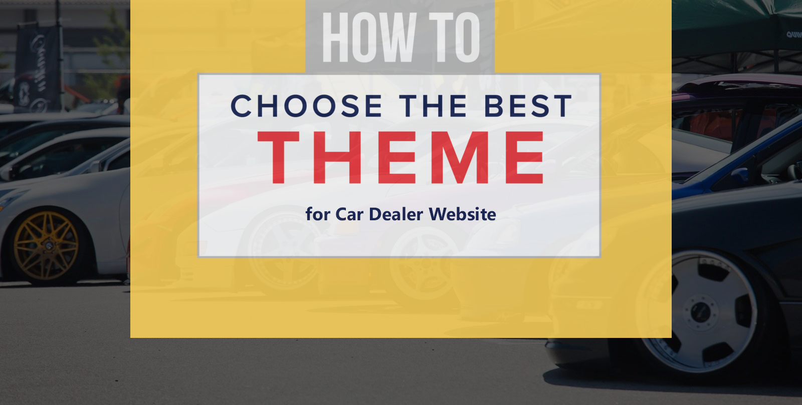 how to find #classified #car #dealer #wordpress #theme for ...
