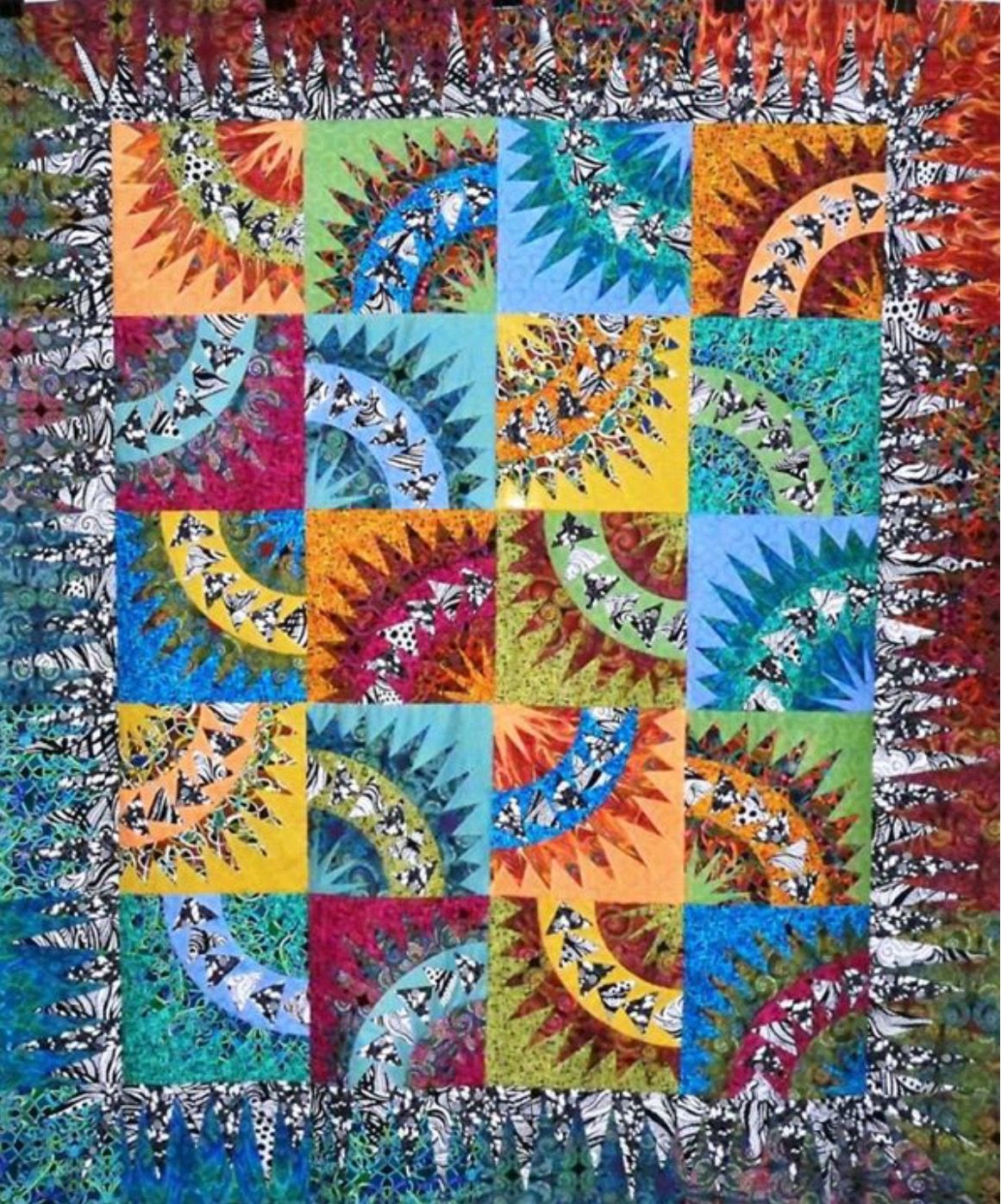 Pin By Fiberandflora.org On Quilts