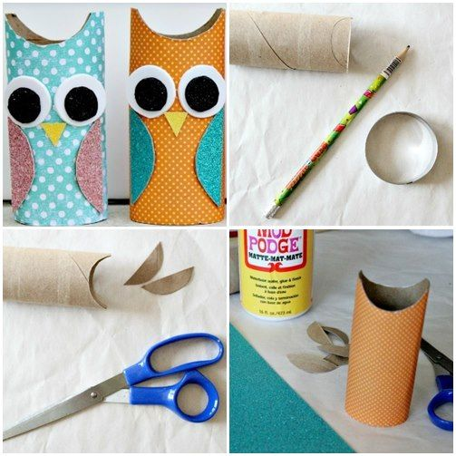 Creative ideas for the production of owls