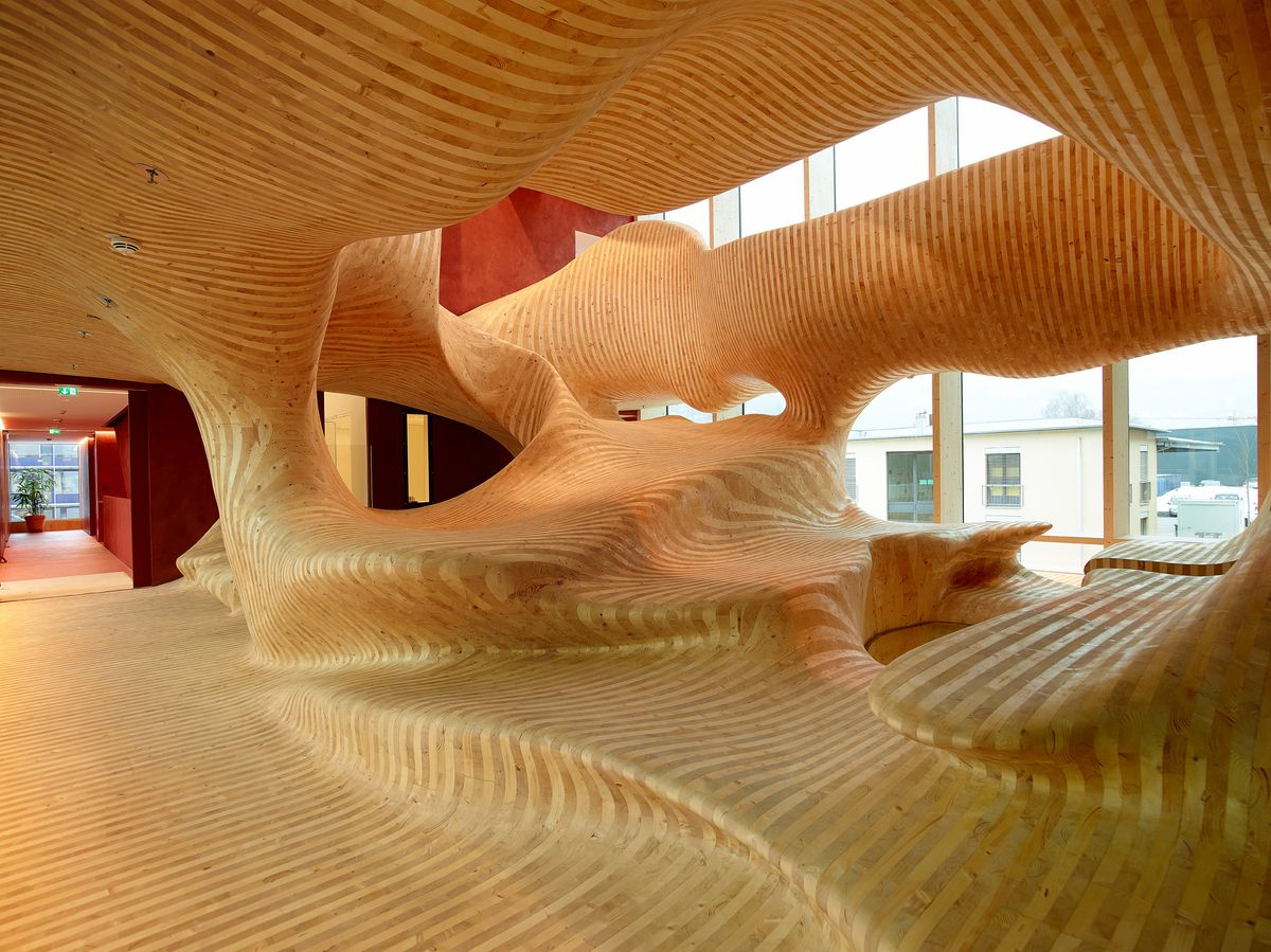 Innenarchitektur Holz omicron skulptur skulpturen holz holz und skulptur