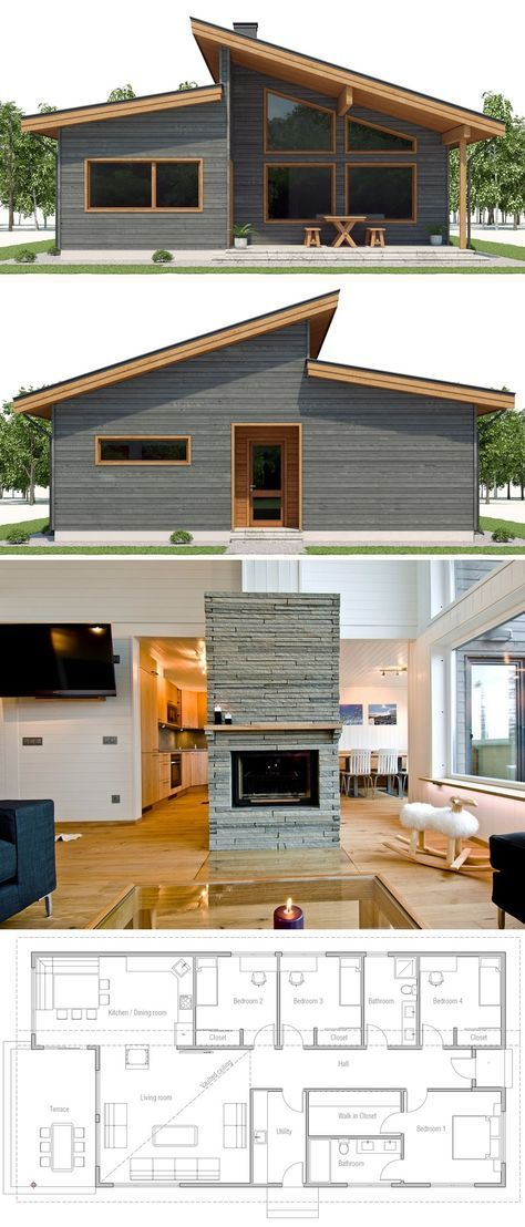 Small House Plan The Geek in Me in 2018 Pinterest House plans