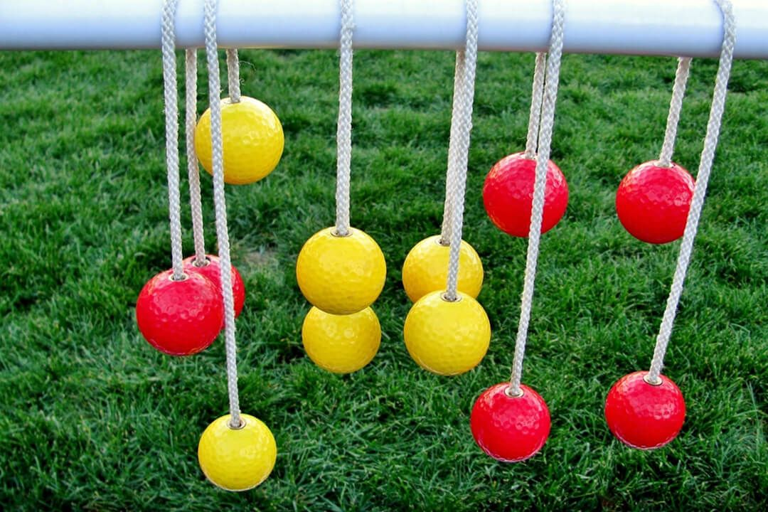 Diy ladder ball how to make ladder golf from wood or pvc
