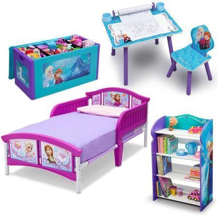 disney frozen bedroom in a box. disney frozen bedroom in a box with bonus toy organizer - walmart.com