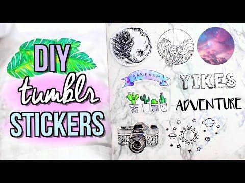 Diy Tumblr Stickers Without Sticker Paper Jenerationdiy