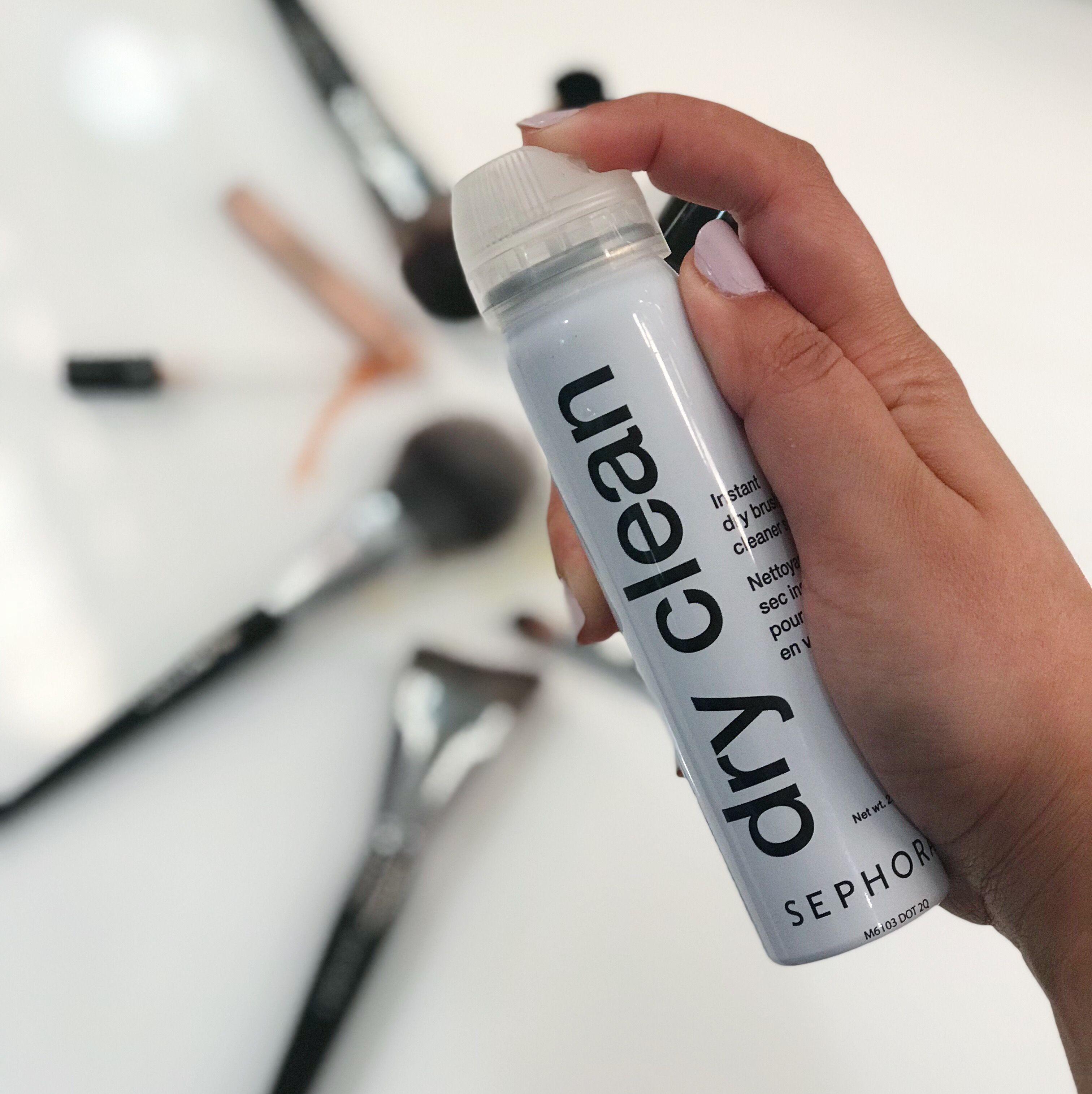 Dry Clean Instant Dry Brush Cleaner Spray Sephora, Brush