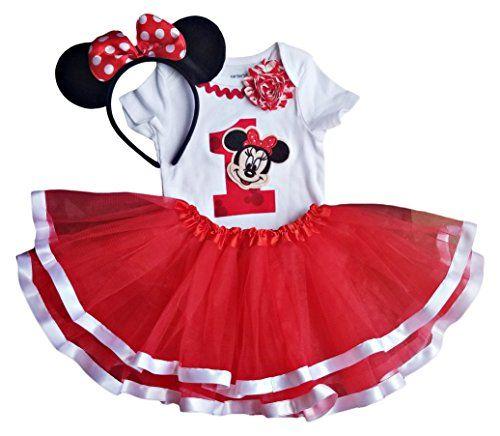 ODASDO Toddler Kids Baby Girls Cartoon Costume Polka Dots Princess Fancy Dress Up with Bowknot Headband Outfit