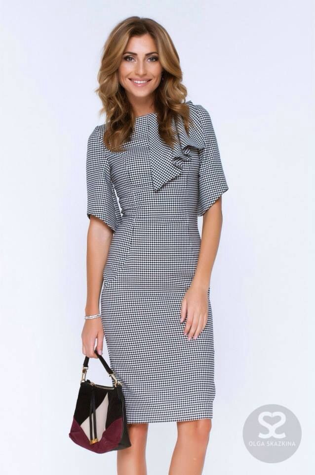модели платье для работы