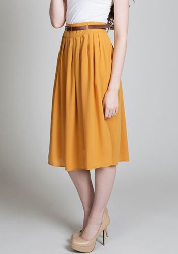 Citron Drop Skirt