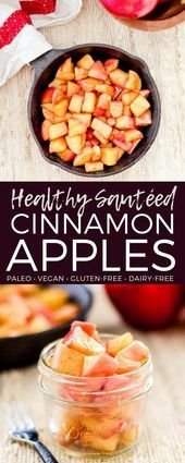 These Stovetop Cinnamon Sautéed Apples taste like a warm apple pie but they co These Stovetop Cinnamon Sautéed Apples taste like a warm apple pie but they c...