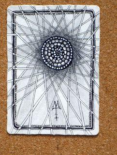 Zentangle ATC by Maria Thomas, Zentangle founder
