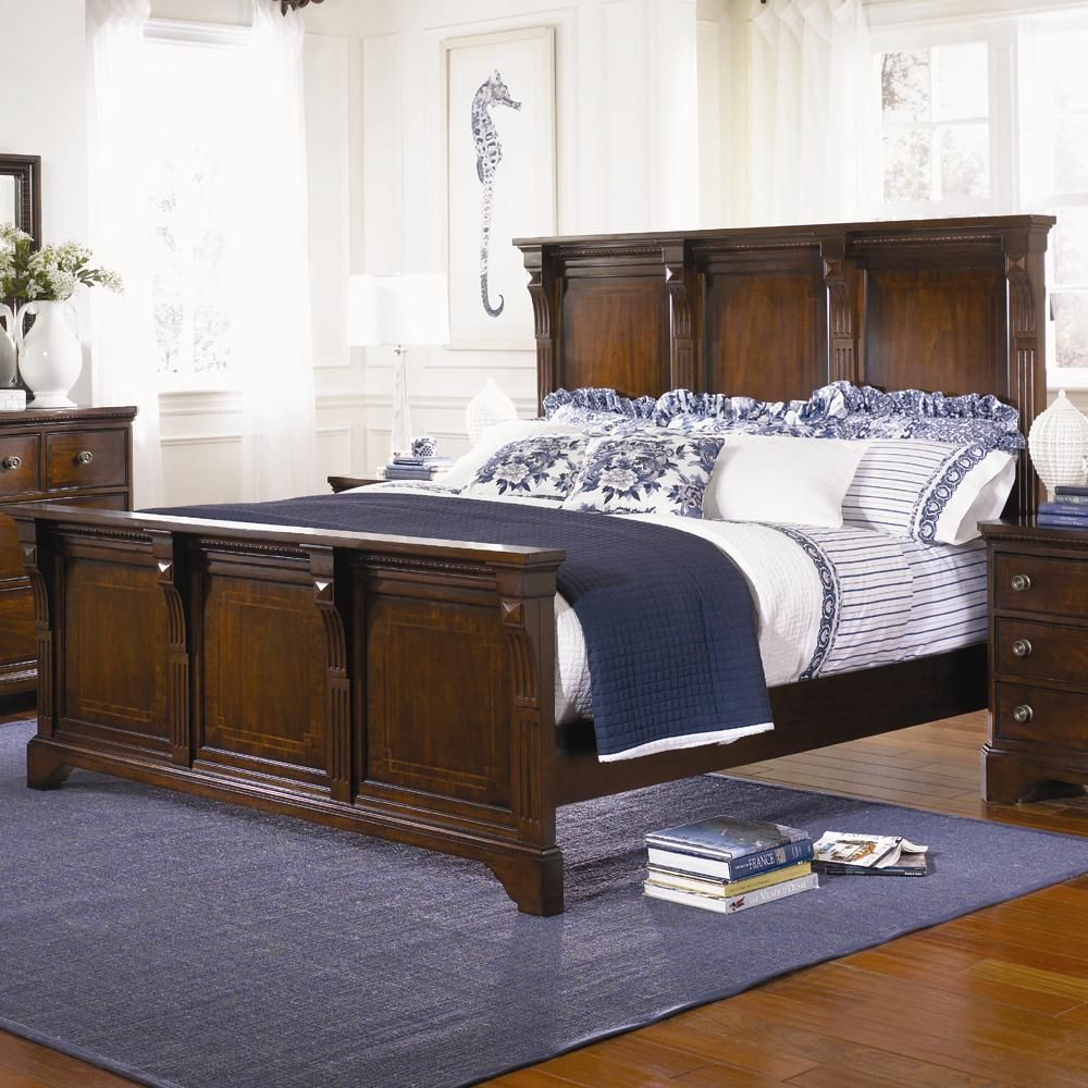 American Traditions King Panel Bed at NC Furniture Best