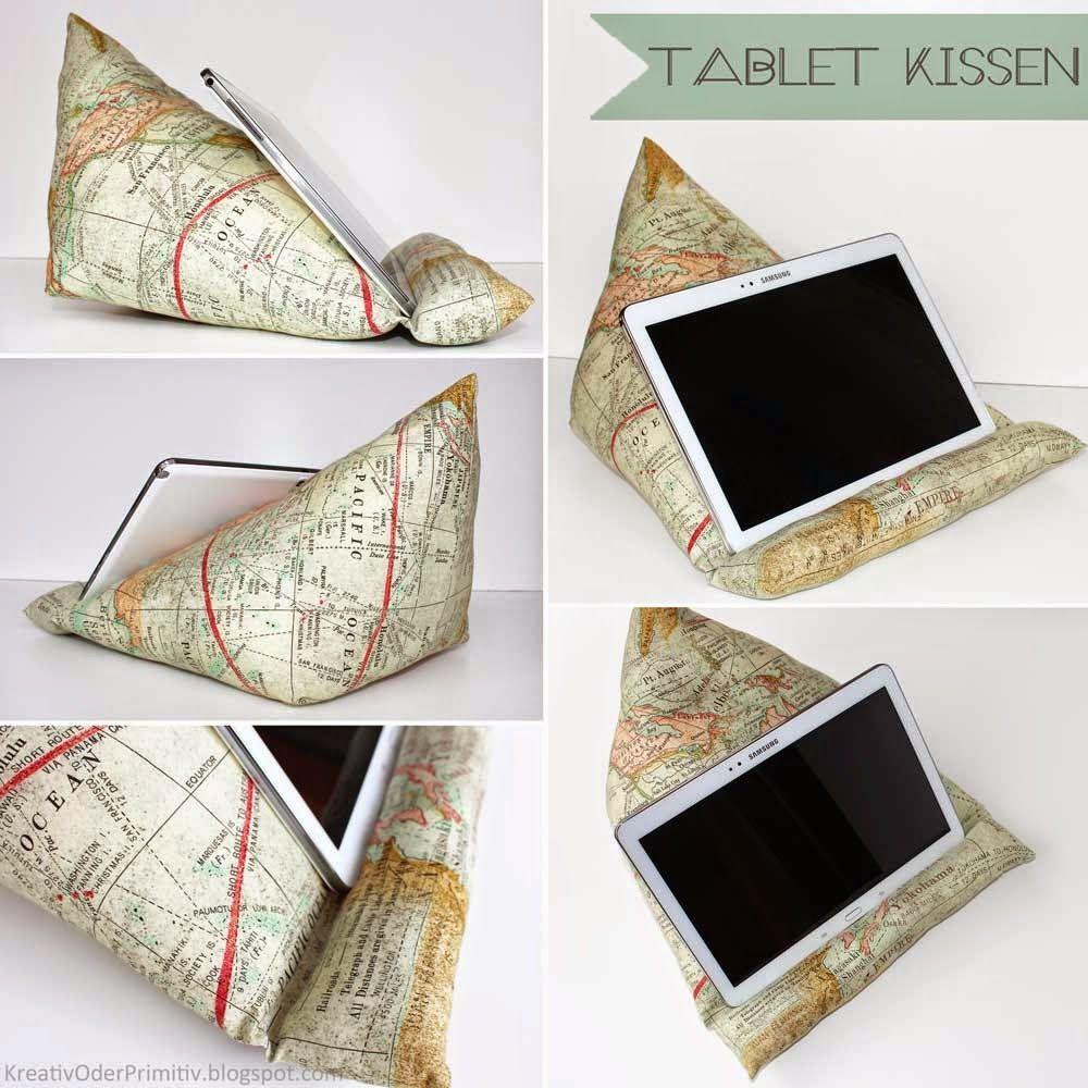 tablet kissen n hanleitung anleitung free sewing tutorial schnittmuster kostenlos g nstig. Black Bedroom Furniture Sets. Home Design Ideas