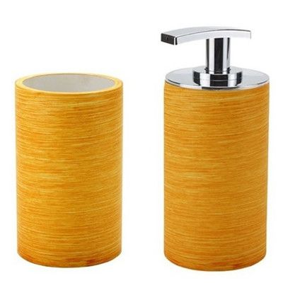 Gedy By Nameeks Sole 2 Piece Bathroom Accessory Set Color: Orange