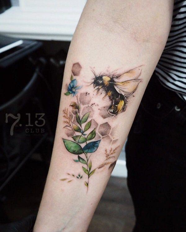 Photo of 75 süße Biene Tattoo Ideen – Tattoo Motive