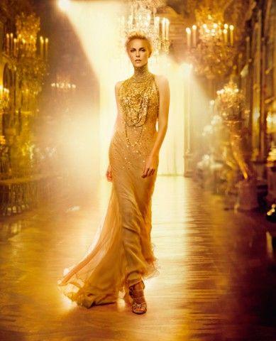 charlize theron j adore dress  2cc1928628c