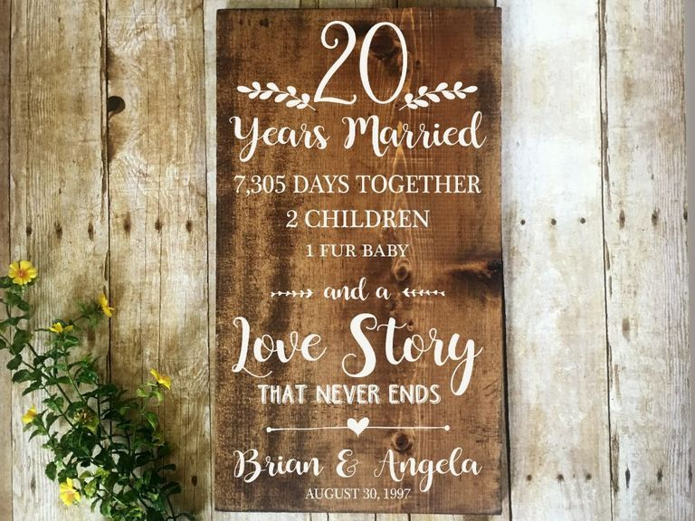 20th Anniversary Gift Ideas Your Spouse (or Favorite