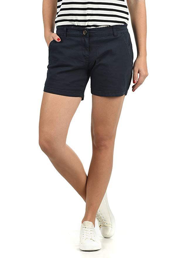 verschiedene Arten von neue Sachen tolle Preise DESIRES Kathy Damen Chino Shorts Bermuda Kurze Hose Mit ...