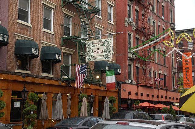 Il Cortile Ristorante Little Italy New York Restaurant New York Little Italy Nyc Trip