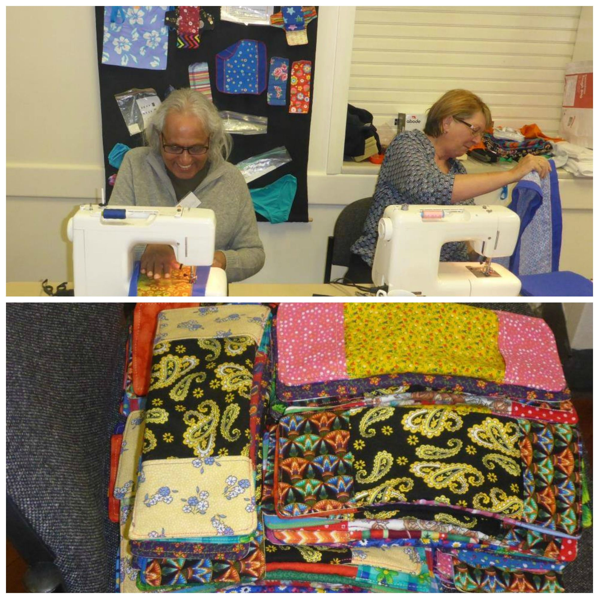 Sewing Day at Reynella Community Centre was a success! A number of volunteers - including members of the Unley Rotary Club - came together to build #DaysforGirls kits. Thank you to the women (and men!) for all of your hard work! And, thank you to #DfG South Australian Chapter for sharing these awesome photos.