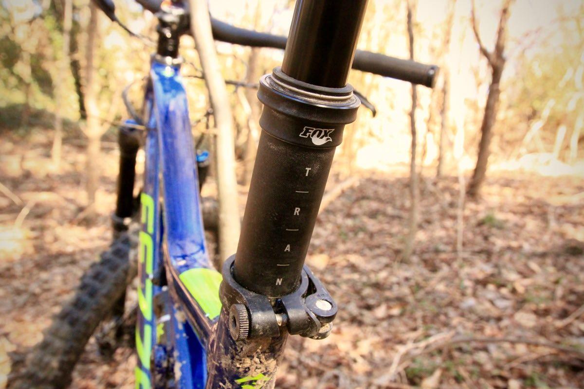 Fox Transfer Dropper Post Review Bike Reviews Mountain Bike