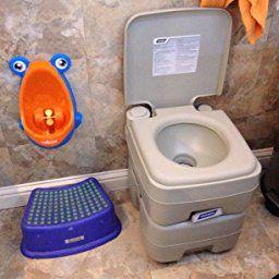 Amazon Com Camco 41541 Portable Toilet 5 3 Gallon Automotive Toilet Design Camco Portable Toilet