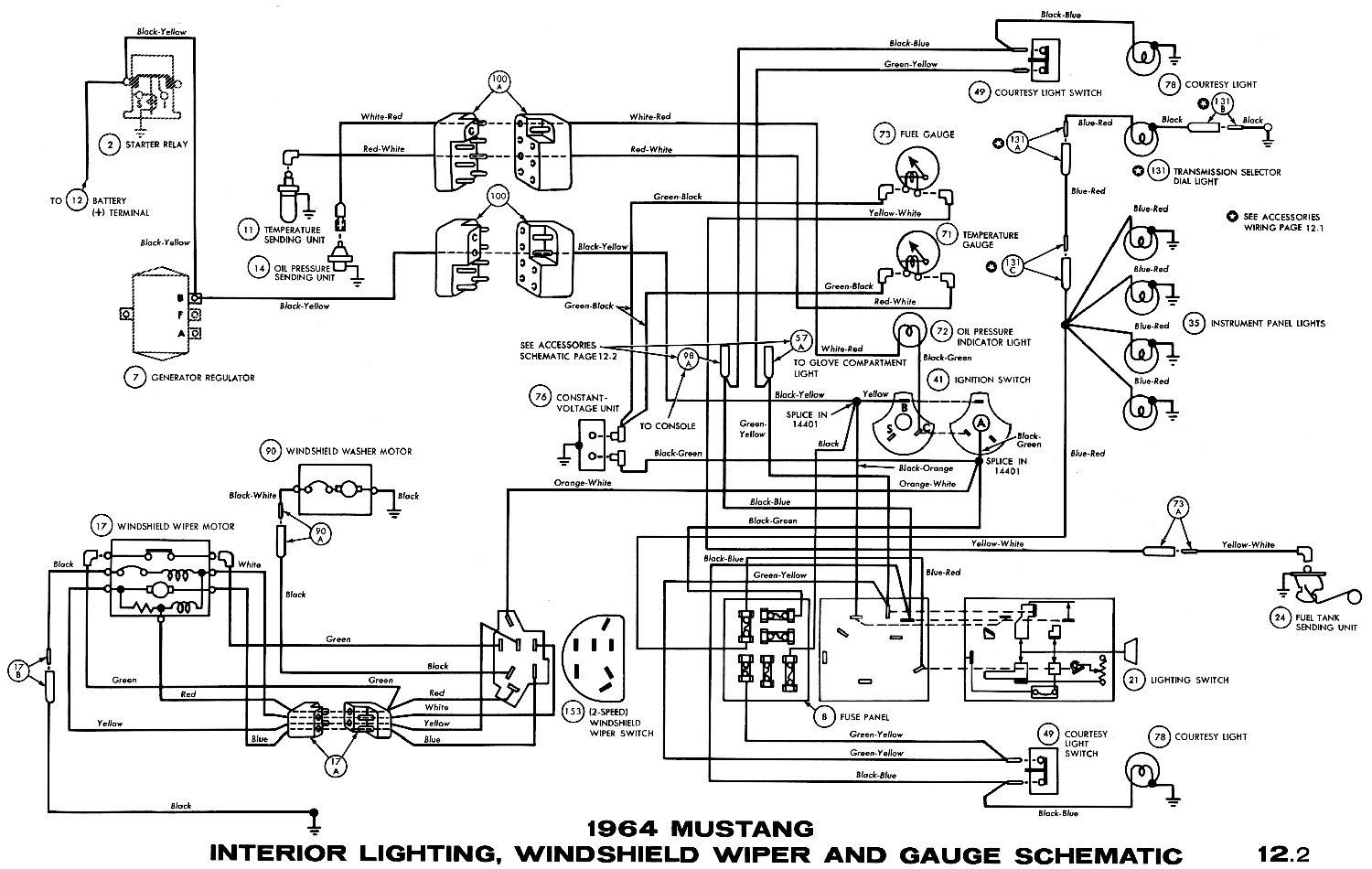 1966 Ford Mustang Wiring Diagram Trusted Wiring Diagram Inside