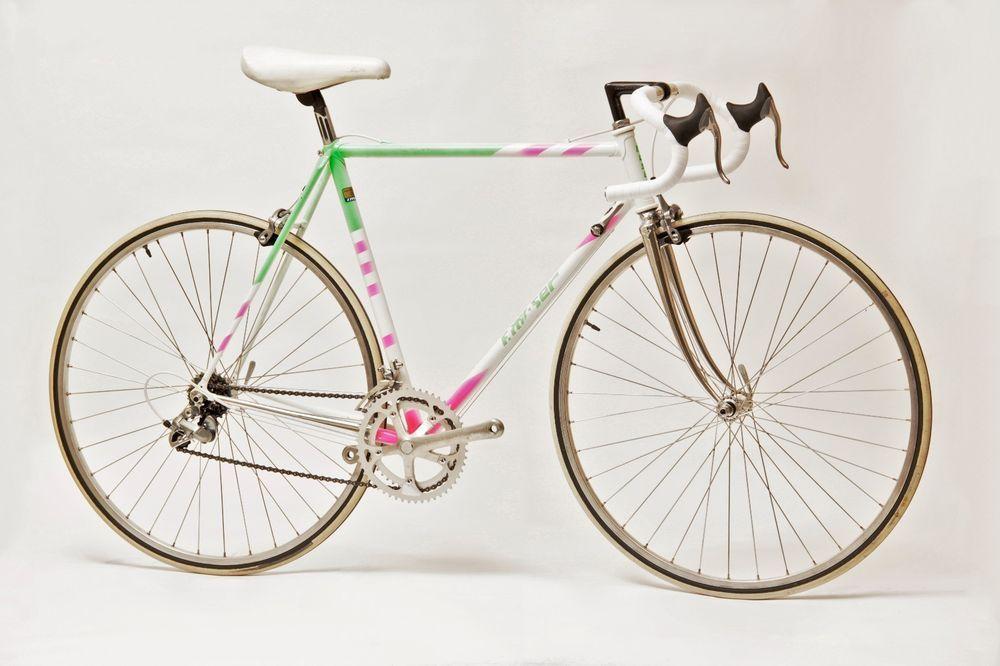 Vintage 90 Francesco Moser Leader Oria 54 Cm Road Bike Shimano
