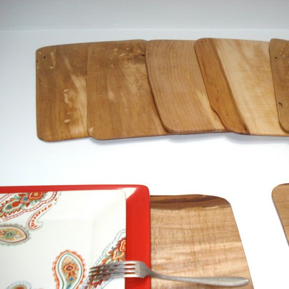 Wooden Place Mats Wood Placemats Placemats Recycle Timber