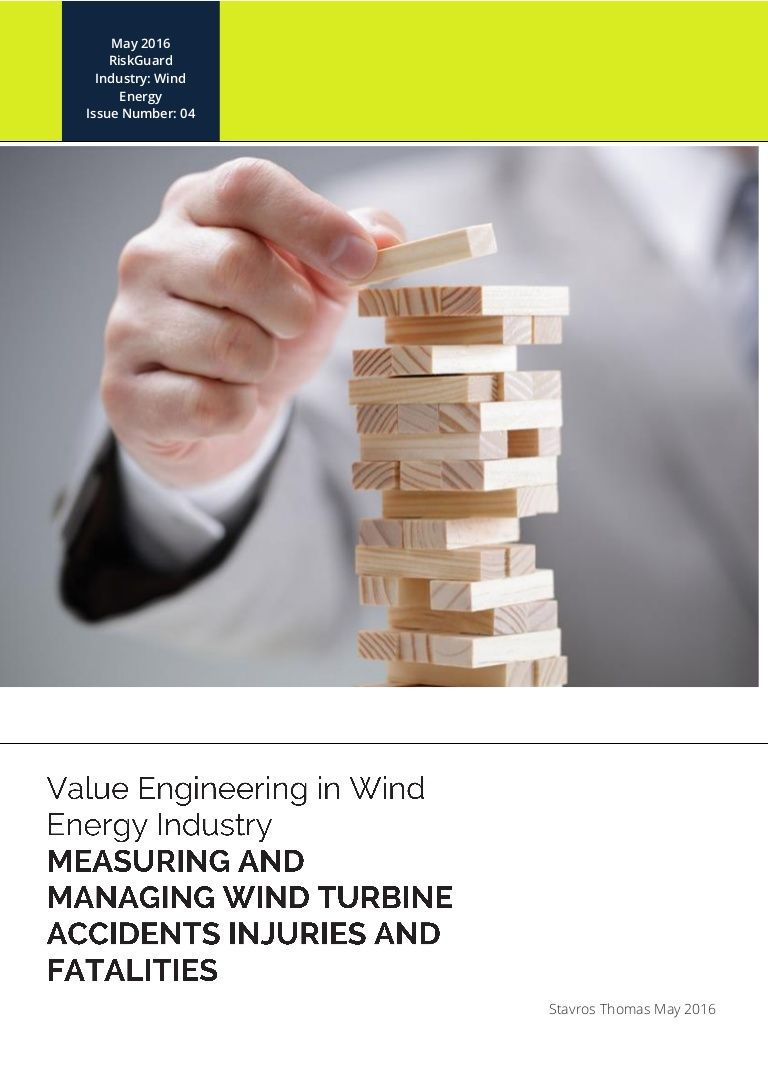 As wind turbines number increased around the world the number of