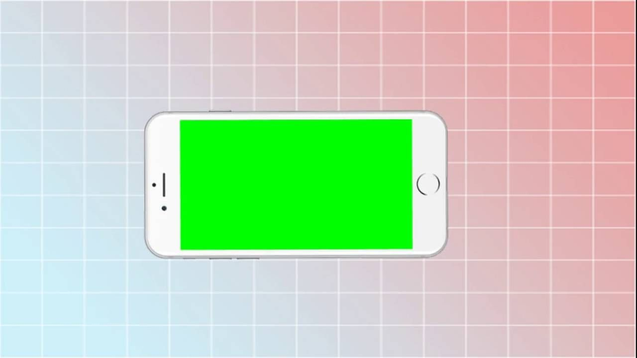 Iphone Green Screen Transition Youtube Greenscreen Green Screen Footage Chroma Key