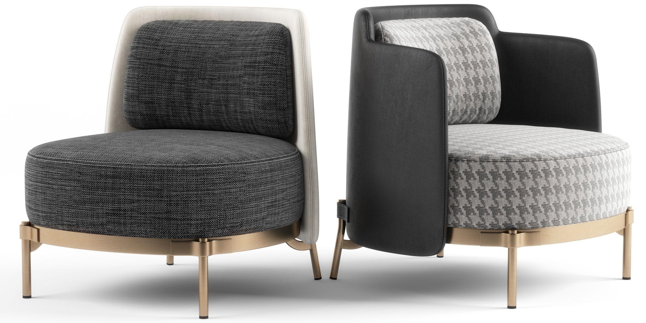 Minotti Tape Armchairs 3d Model 3d Model Minotti Furniture Armchair Furniture Furniture