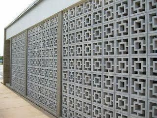 Breeze Blocks Decorative Concrete Blocks Cinder Block Walls Breeze Block Wall