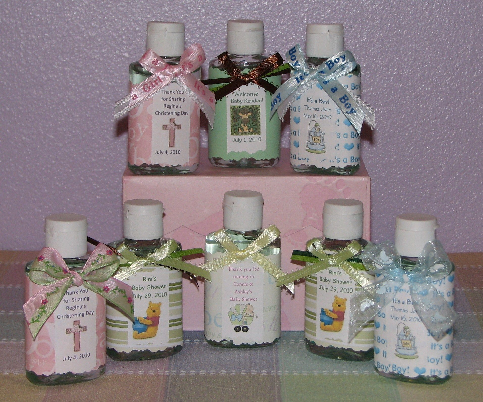 Baby Shower Favors Ideas To Make At Home ~ Baby shower favors ideas and tips for making the right choice