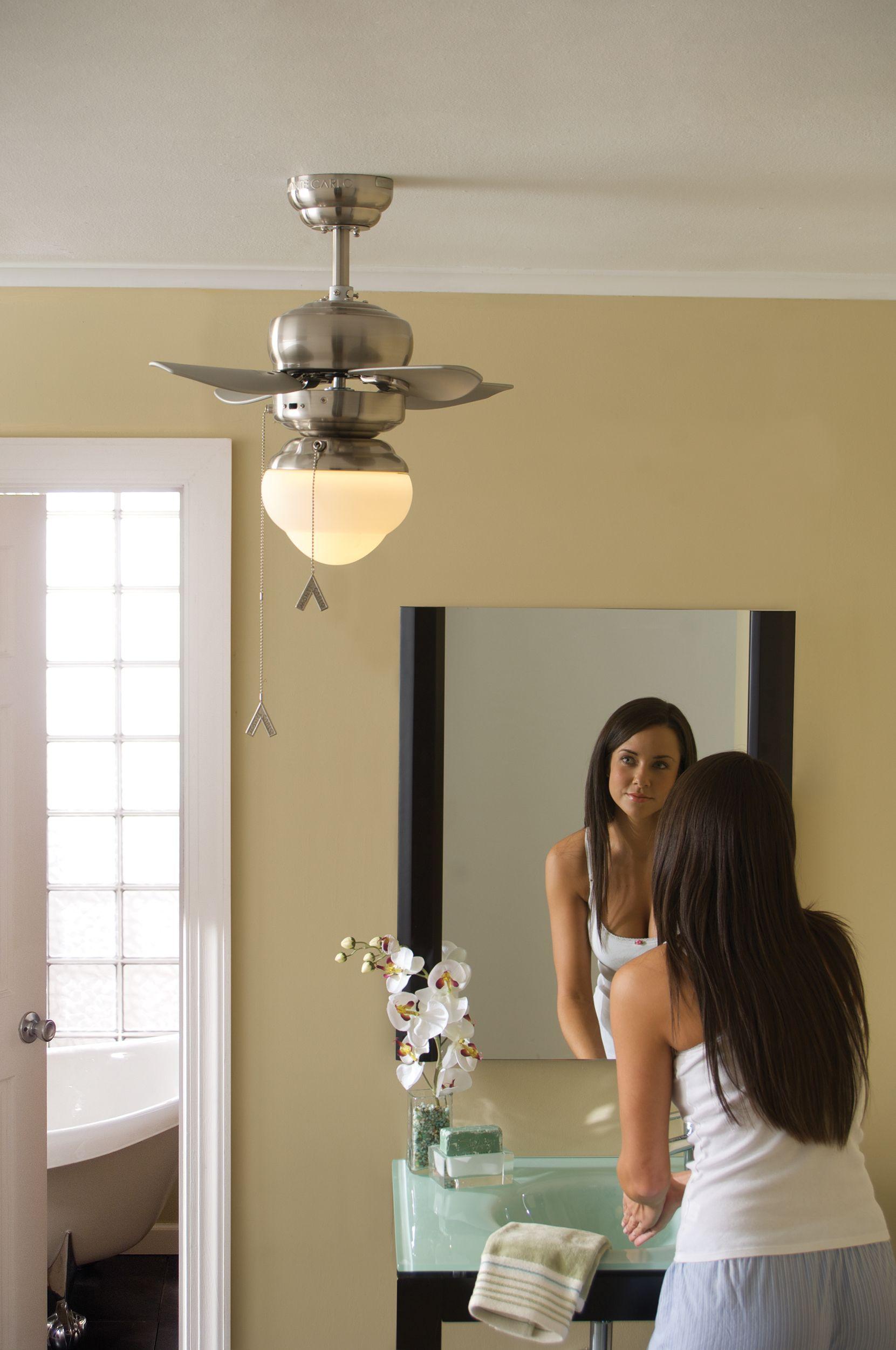 """Mini 20 Collectionmonte Carlo 20"""" Mini 20 Fan#fan #lighting Best Small Fan For Bathroom Design Decoration"""